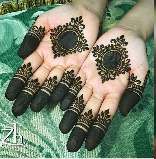 Simple Beautiful Mehndi Designs (4)