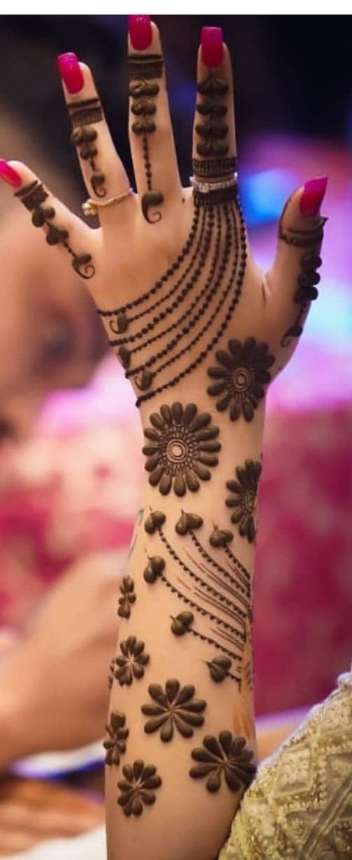 Simple Beautiful Mehndi Designs (5)