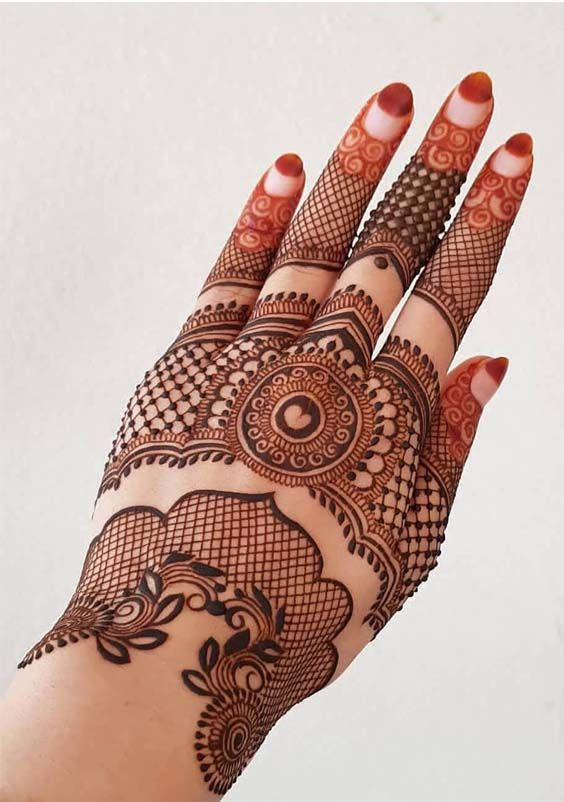 Simple Mehandi Designs (3)