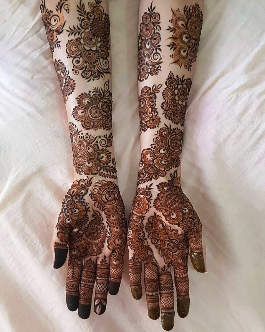 Simple Mehandi Designs (4)