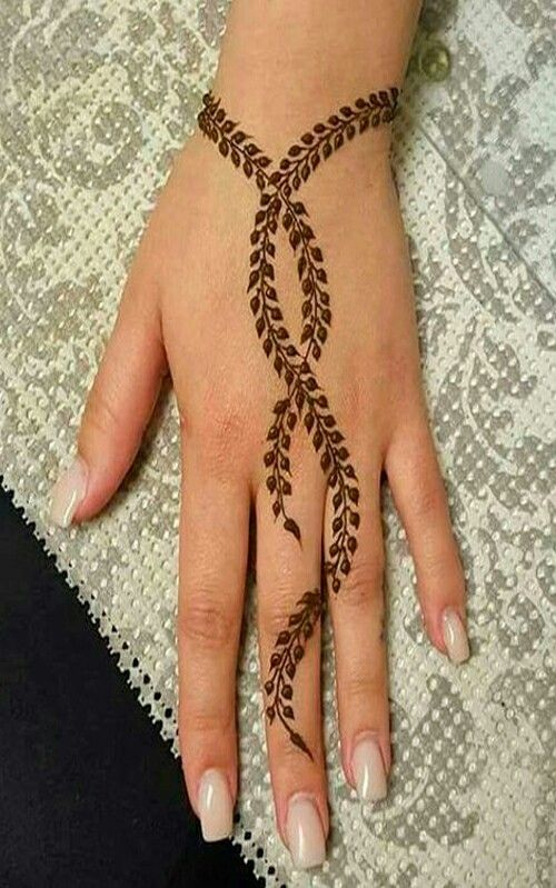 Simple Mehandi Designs (6)