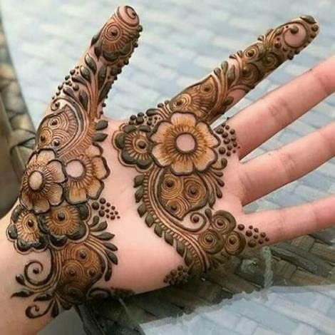 Simple Mehandi Designs (7)