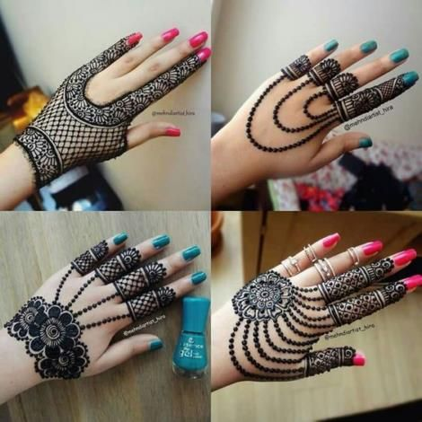 Simple Mehendi Design Images (3)