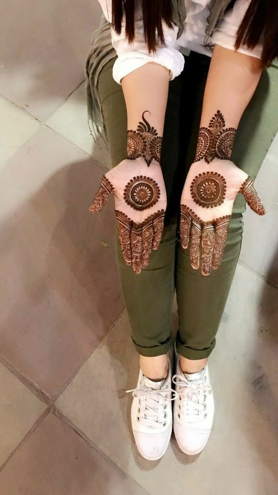 Simple Mehndi Design Book (7)