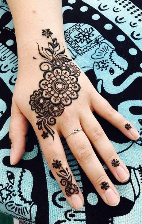 Simple Mehndi Design Book (8)