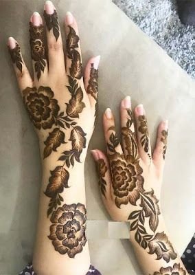 Simple Mehndi Design Book (9)