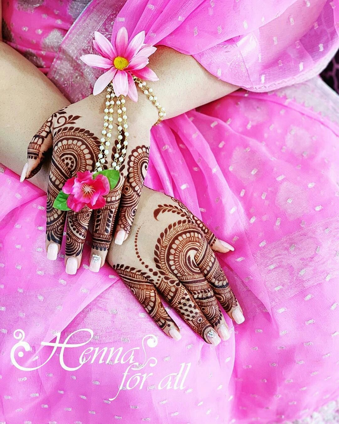 Simple Mehndi Design For Beginners (11)