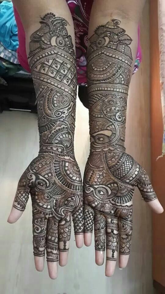 Simple Mehndi Design For Beginners (7)