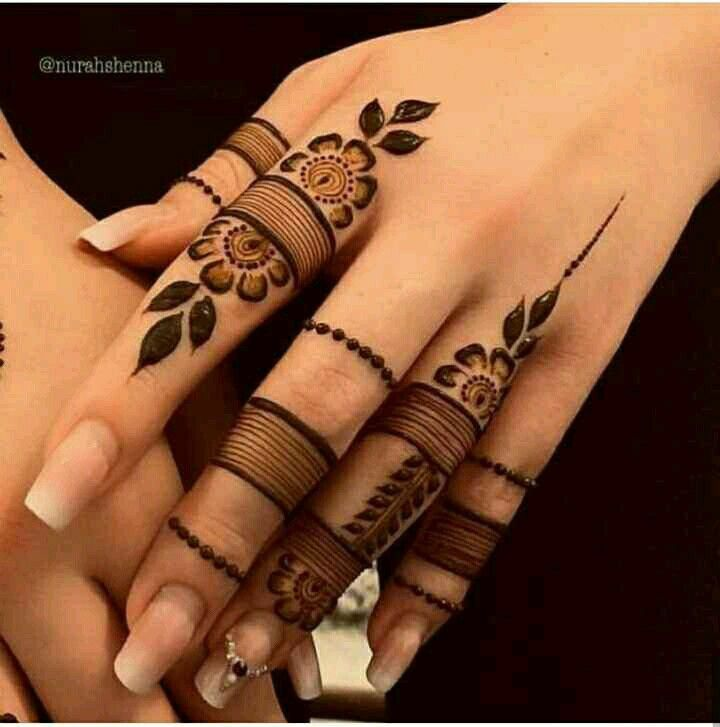 Simple Mehndi Design For Beginners (8)