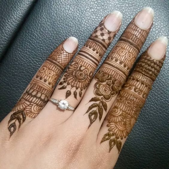 Simple Mehndi Designs For Hands (2)