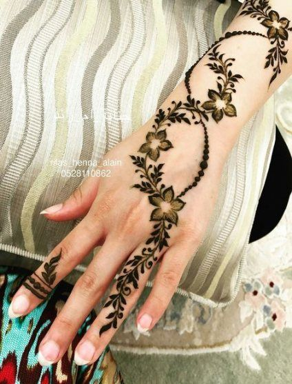 Simple Mehndi Designs For Hands (4)