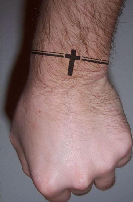 Small Cross Tattoos For Men
