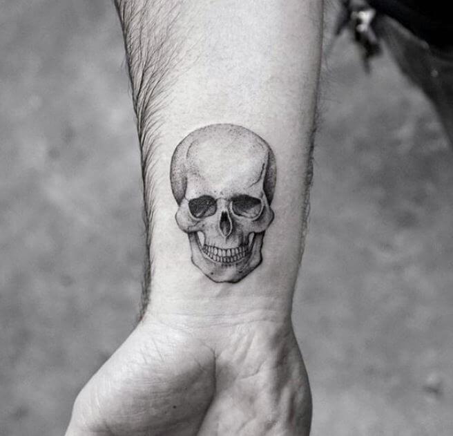 Small Skull Tattoos For Men