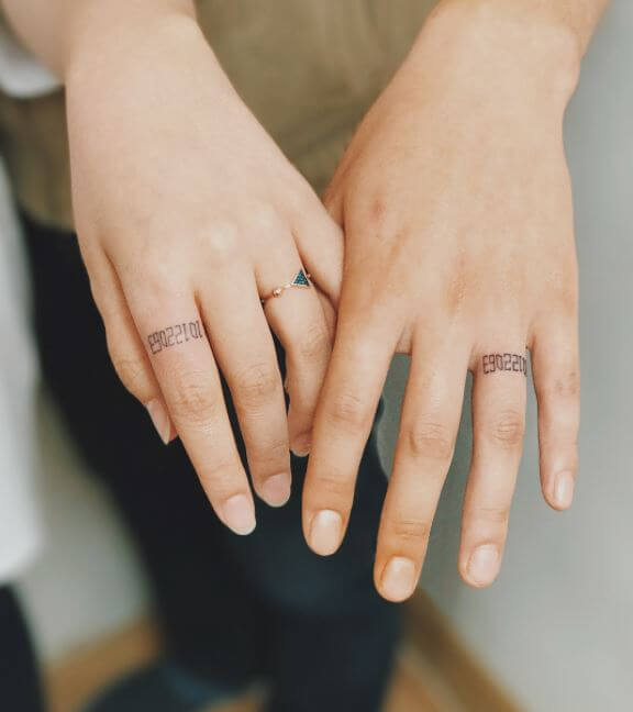 Tiny Couples Tattoos