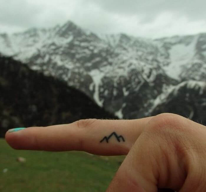 Tiny Mountain Tattoos