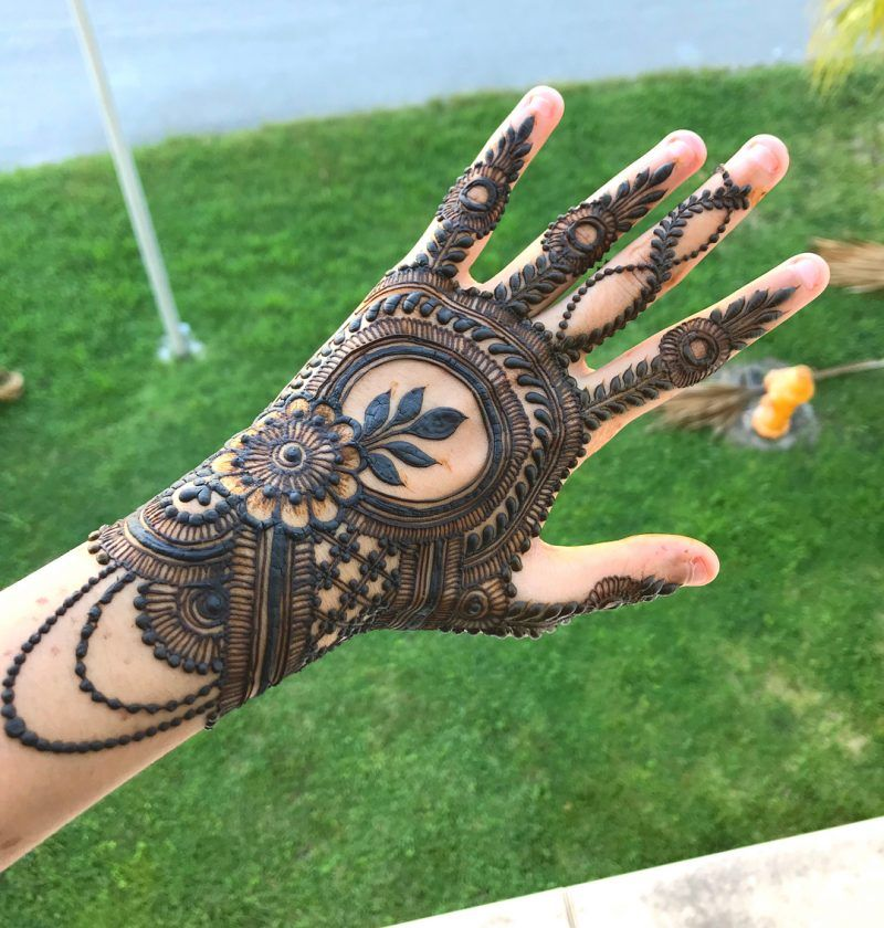 Traditional Henna Designs (6)