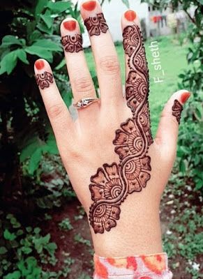 Traditional Henna Designs (8)