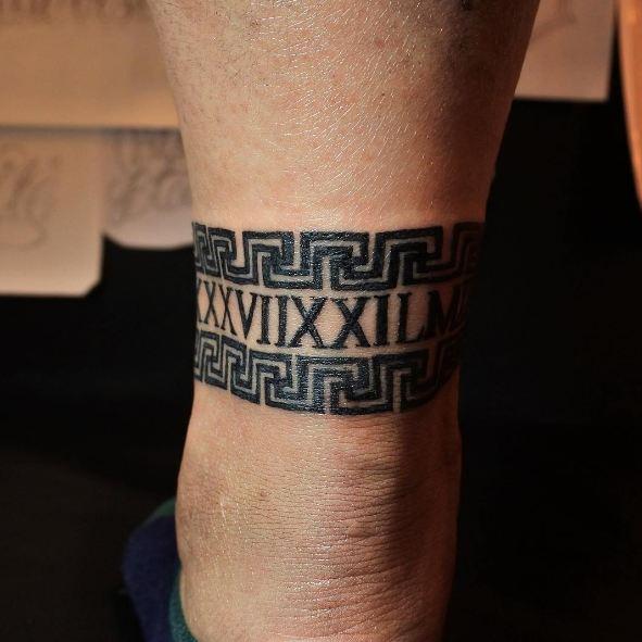 Tribal Band Tattoos