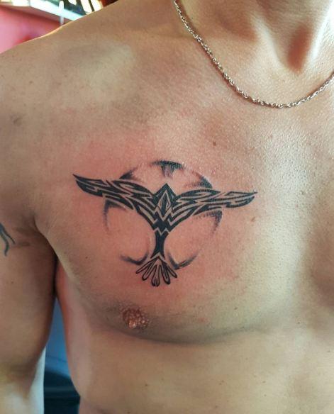 Tribal Chest Tattoos