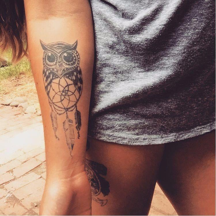 Tribal Dreamcatcher Tattoo (1)