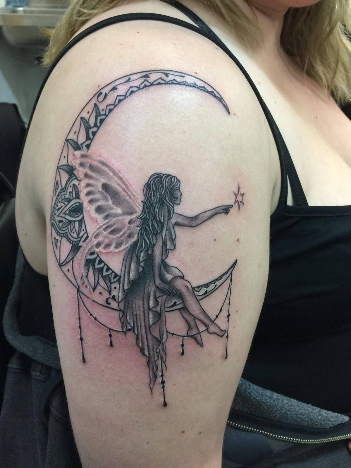 Tribal Dreamcatcher Tattoo (3)