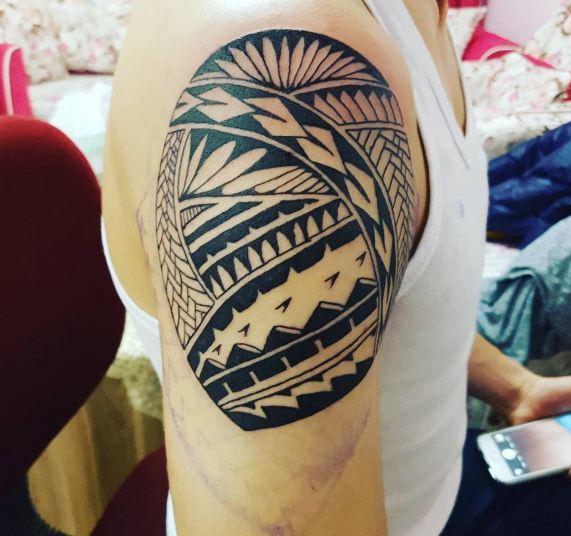 Tribal Shoulder Tattoos