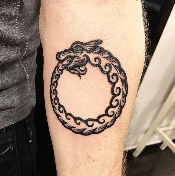 Tribal Snakes Tattoos