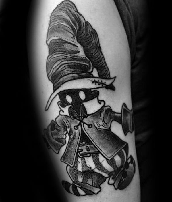 Unique Final Fantasy Video Game Guys Arm Tattoo Ideas