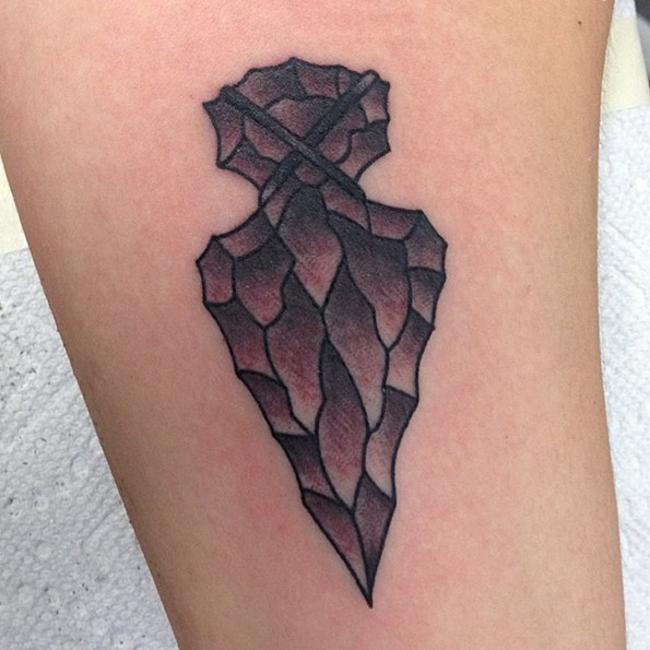Very Specific Arrowhead Tattoos