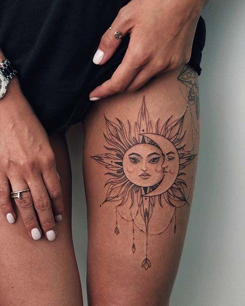 Wolf Dreamcatcher Tattoo (8)