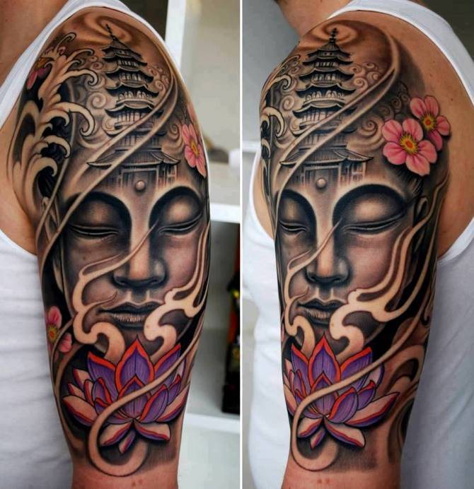 03 Half Sleeve Japanese Tattoo