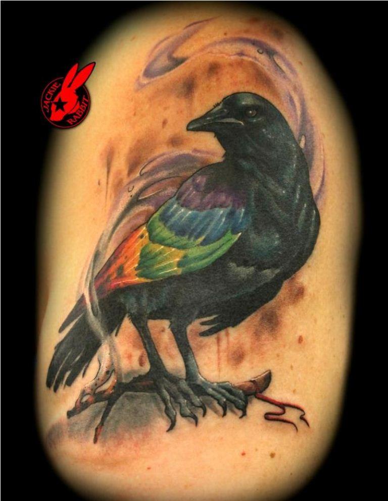 05 Rainbow Bird Tattoo