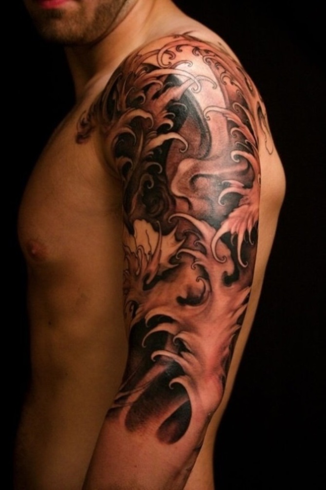 17 Japanese Half Sleeve Tattoo Designs