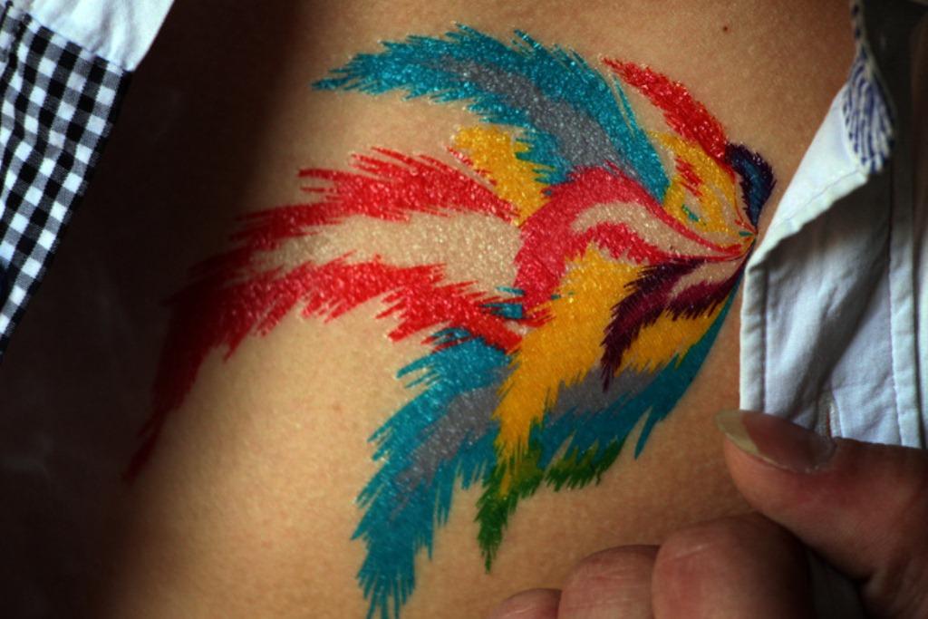 32 Rainbow Tattoo