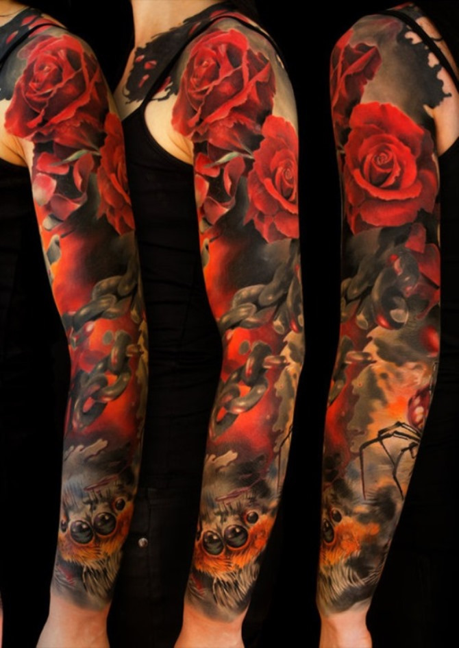 50 Sleeve Japanese Tattoo
