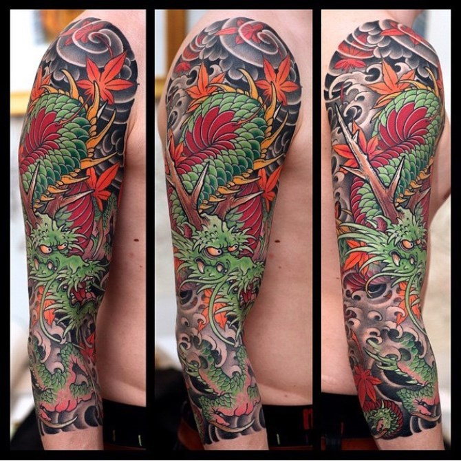 57 Tattoo Sleeve Japanese