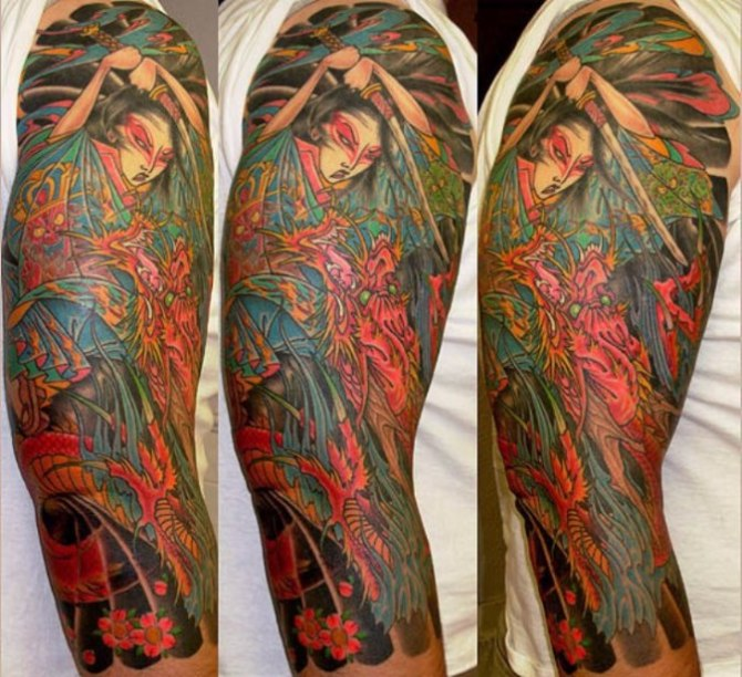 61 Traditional Japanese Tattoo Sleeve