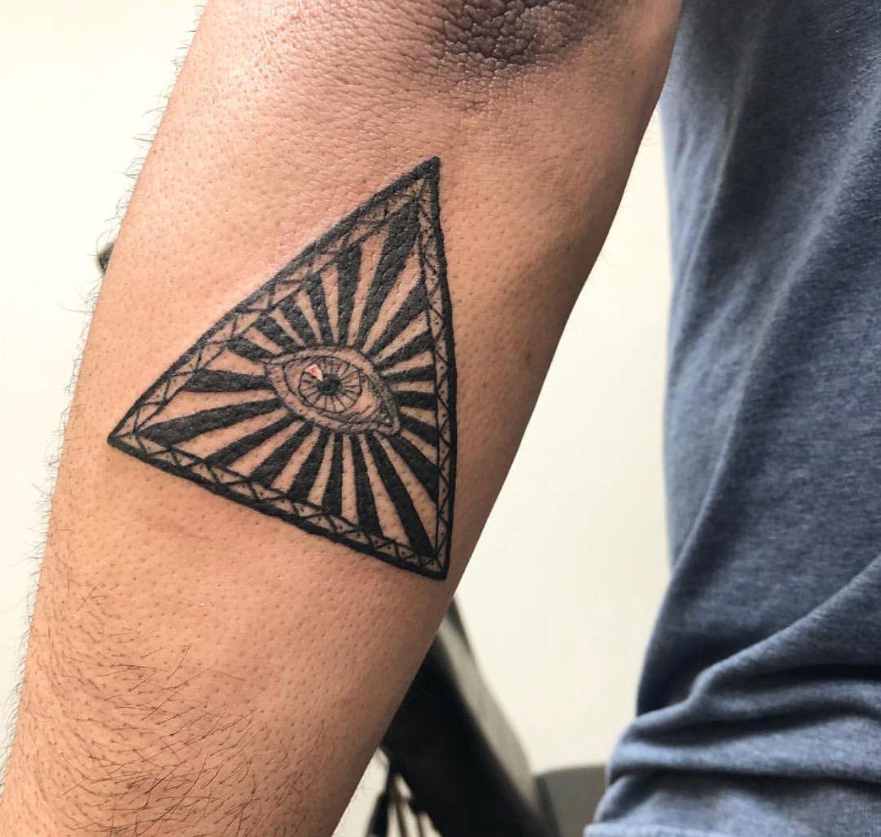 All Seeing Eye Tattoo