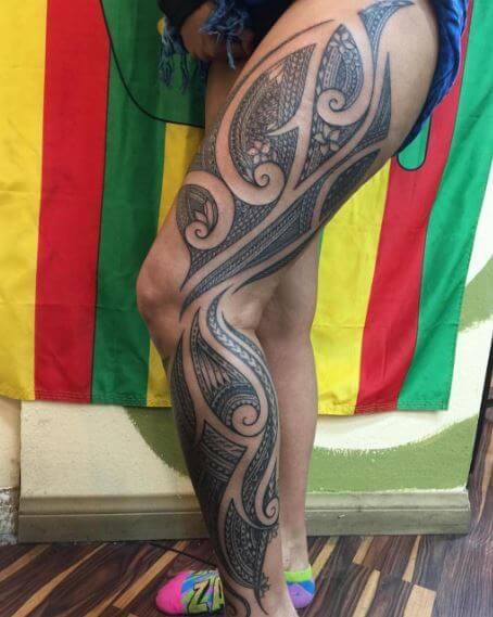 Hawaiian Tattoo 22