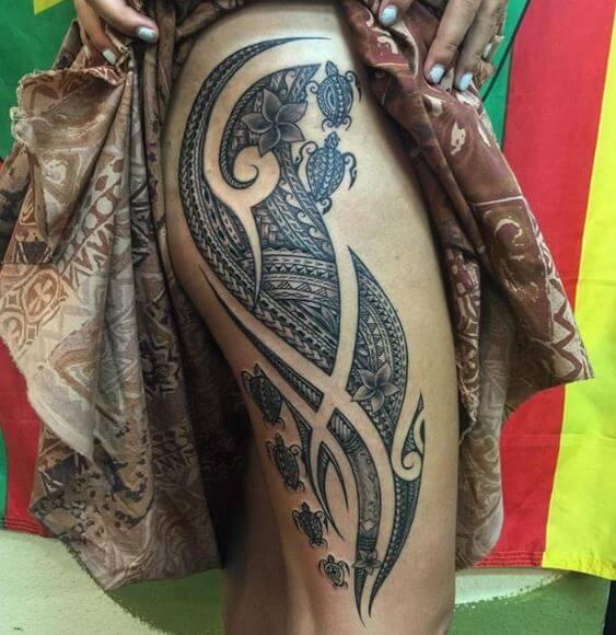 Hawaiian Tattoo 25