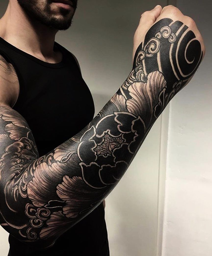 Japanese Traditional Tattoo Sleeve