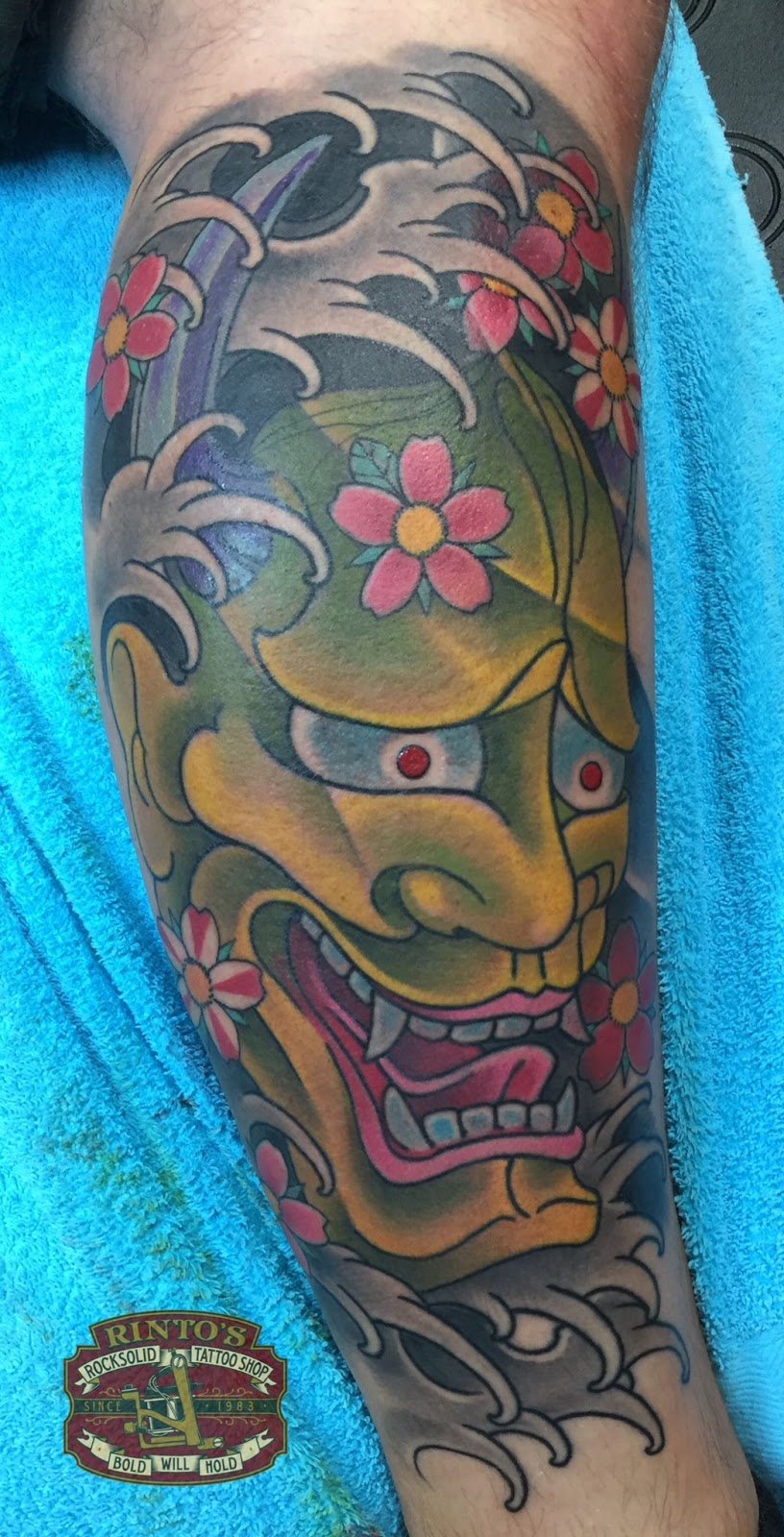 Asian Themed Tattoo Sleeves