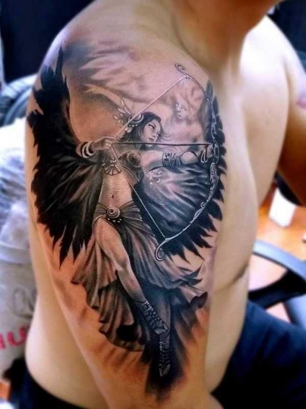 Back And Shoulder Tattoos (2)