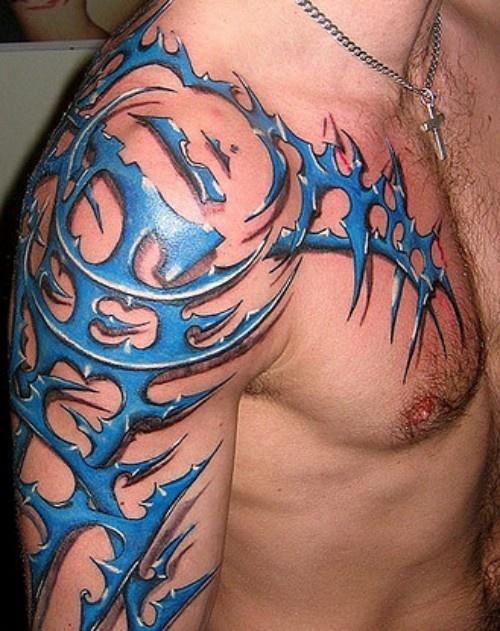 Back And Shoulder Tattoos (7)