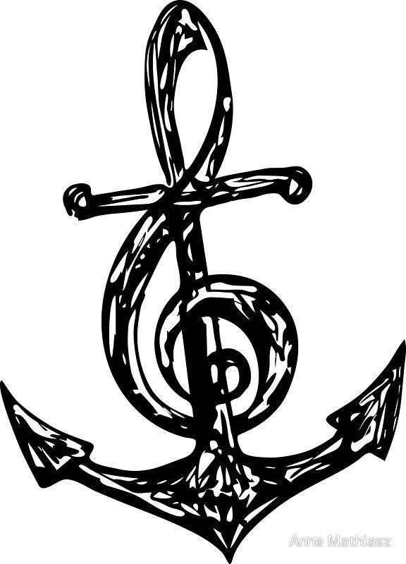 Bass Clef Tattoo (3)