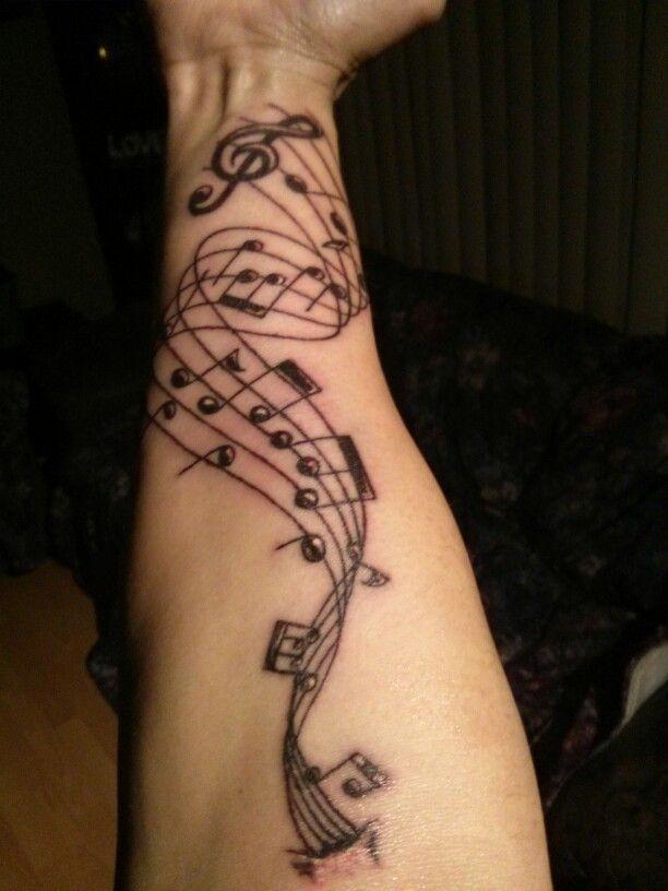 Bass Clef Tattoo (7)