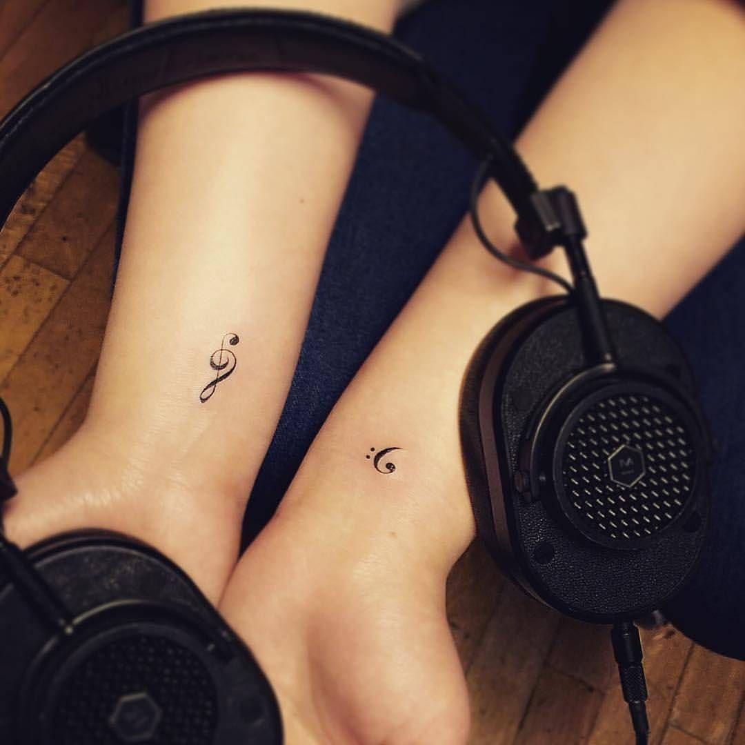 Bass Clef Tattoo (8)