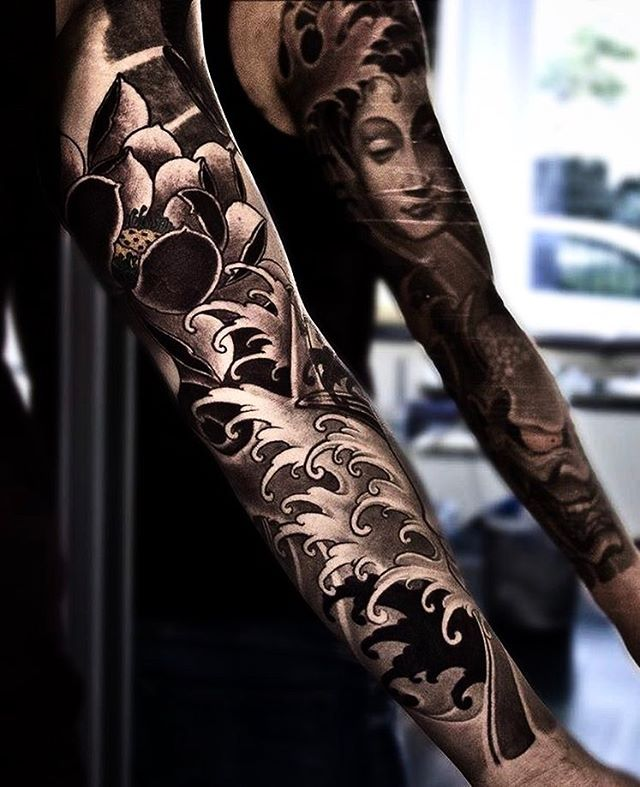Beautiful Koi Fish Tattoo