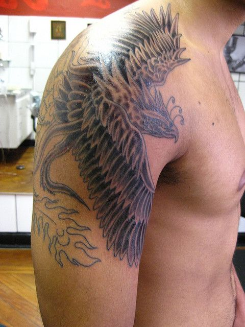 Dragon Tattoos For Men Shoulder (11)