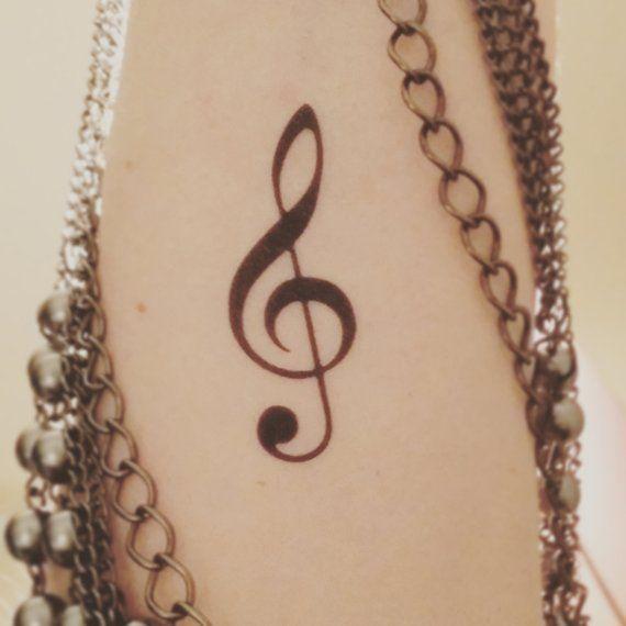 G Clef Tattoo (3)